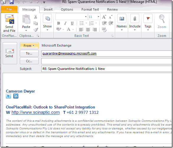 Working with multiple email accounts in Outlook–sending from a ...