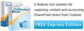 OnePlaceMail Express Free Download (SharePoint/Outlook integration)