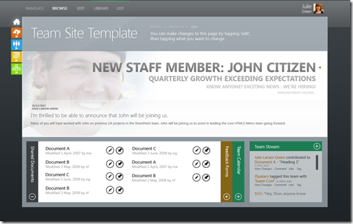 sharepoint-2013-sharepoint 15-concept-team-site-metro