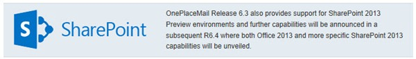 oneplacemail-sharepoint-2013-sp2013-outlook-support