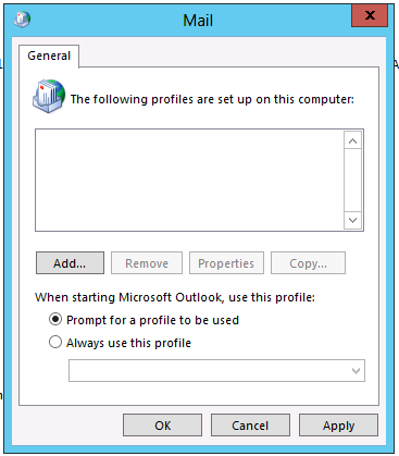 How to setup Outlook 2013 to connect to an Exchange 2013