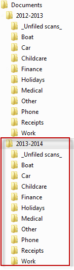 How to copy an entire folder structure without copying the