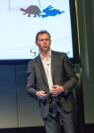 James Fox presenting OnePlaceMail at HP Autonomy Conference