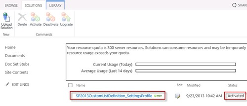 13-sharepoint-2013-how-to-custom-list-definition-vs2012-verify-solution-deployed-cameron-dwyer