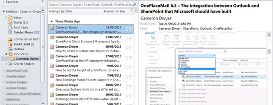 08-Get-SharePoint-Top-50-Blog-Site-Content-Free-Blog-Articles-Deliverred-in-Outlook-Cameron-Dwyer