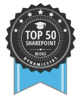 cameron-dwyer-top-50-sharepoint-blogs-award