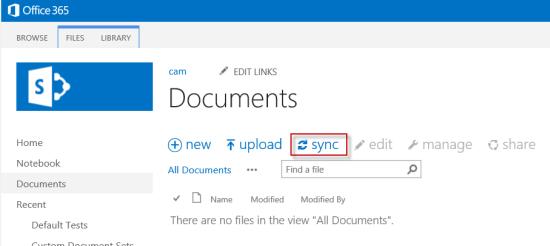 bulk-upload-folder-structure-sharepoint-cameron-dwyer-onedrive-sync-button