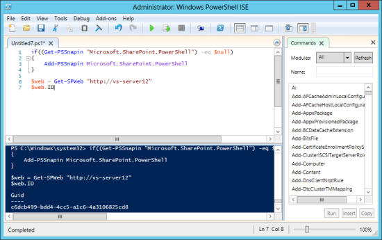 sharepoint-powershell-getting-started-cameron-dwyer-powershell-ise