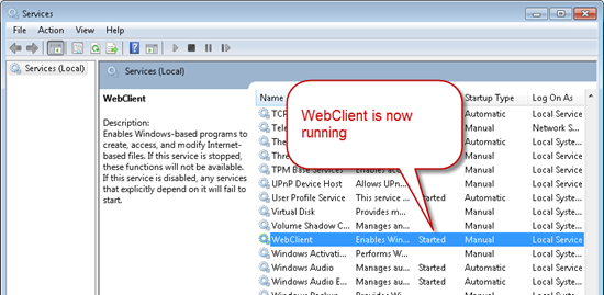 webdav-path-not-valid-sharepoint-fix-cameron-dwyer-07-webclienbt-service-started