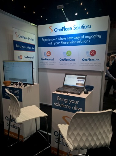 OnePlace Solutions Booth