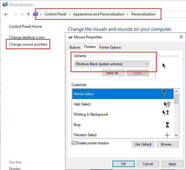 How to fix mouse cursor disappearing in Visual Studio