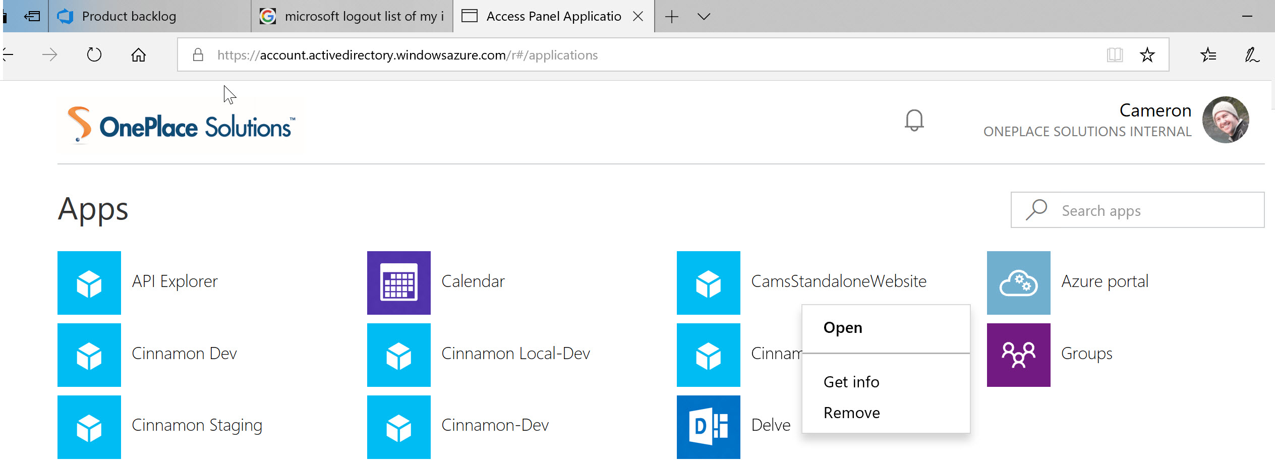 View My Office 365 Apps (add-ins) and remove consent
